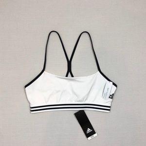Women's Adidas 3-Stripes Low-Impact Sports Bra